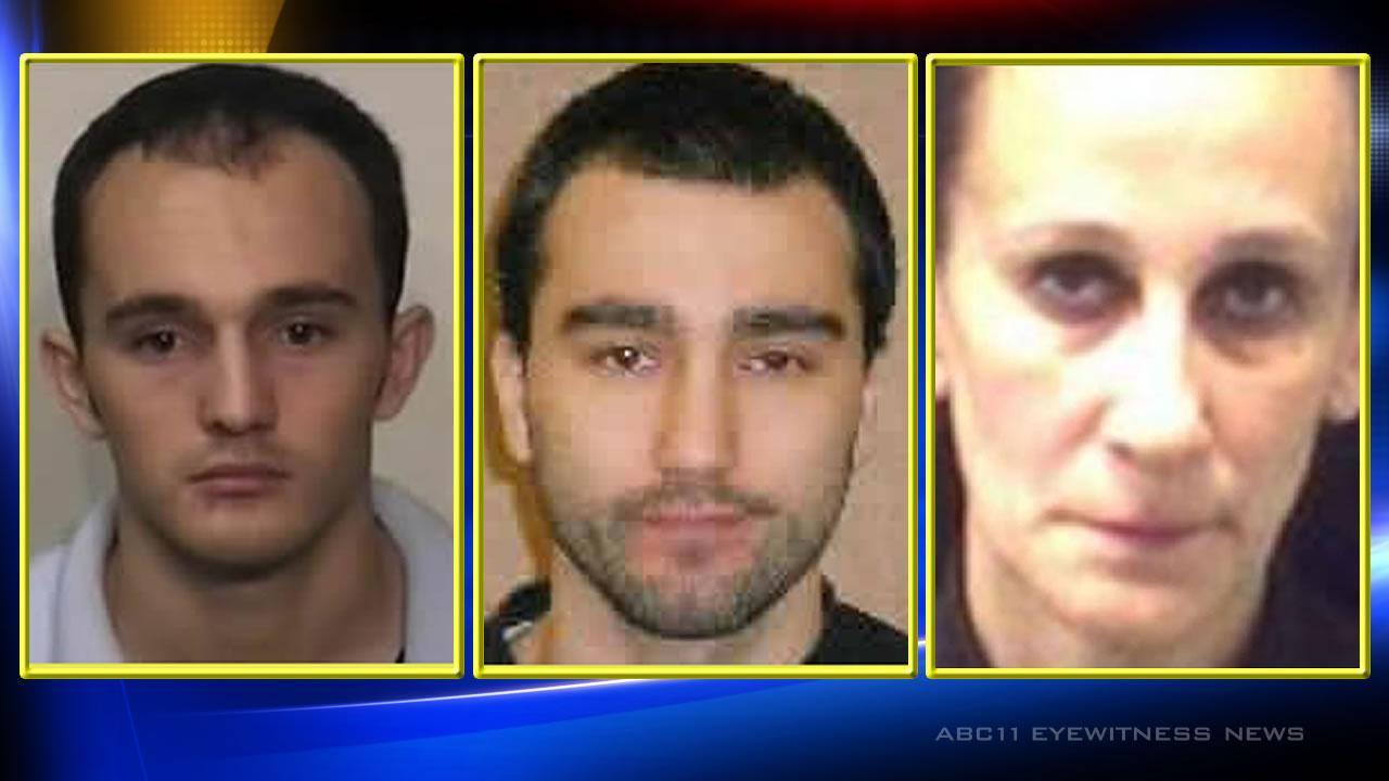 Trio sentenced in plot to behead terror witnesses