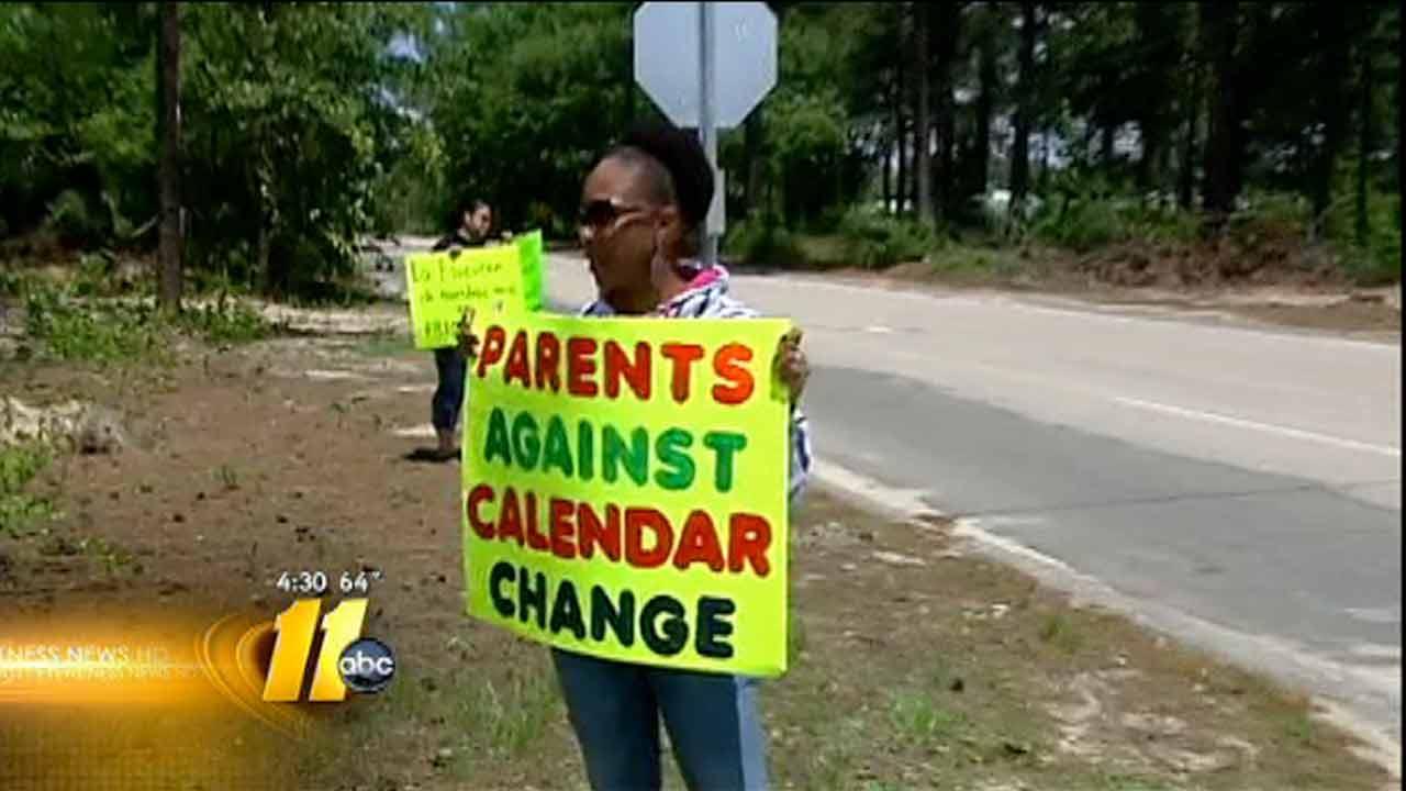 Elementary school parents upset over calendar change