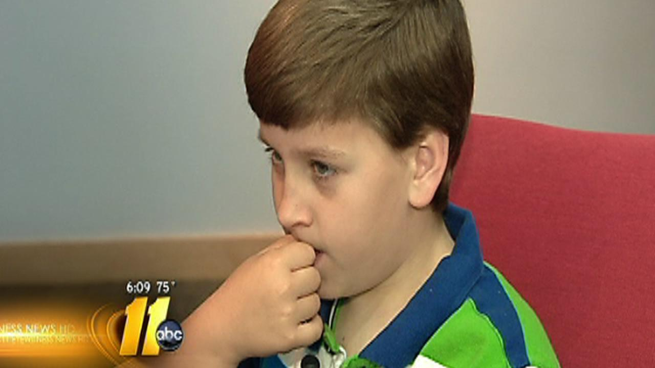 Cancer returns for child who gave gifts to cancer patients