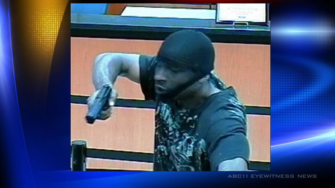 Police investigate Durham bank robbery
