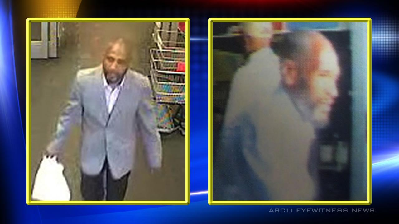 The suspect is described as a black male in his early 40s.