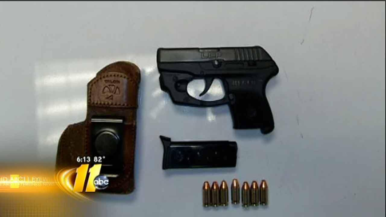 More guns being found at airports nationwide