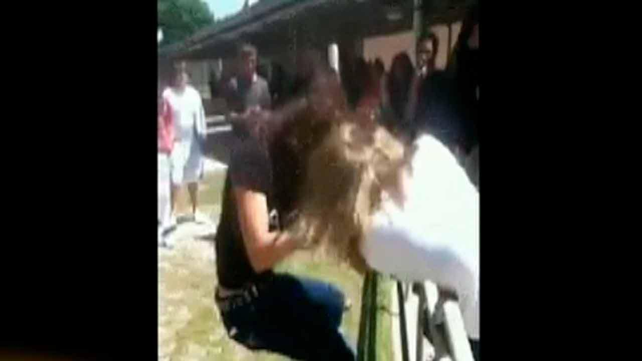 Fight at Hope Mills Middle School caught on tape