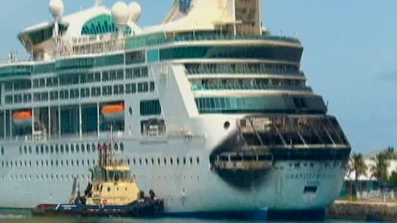 Local couple recalls cruise cut short by fire