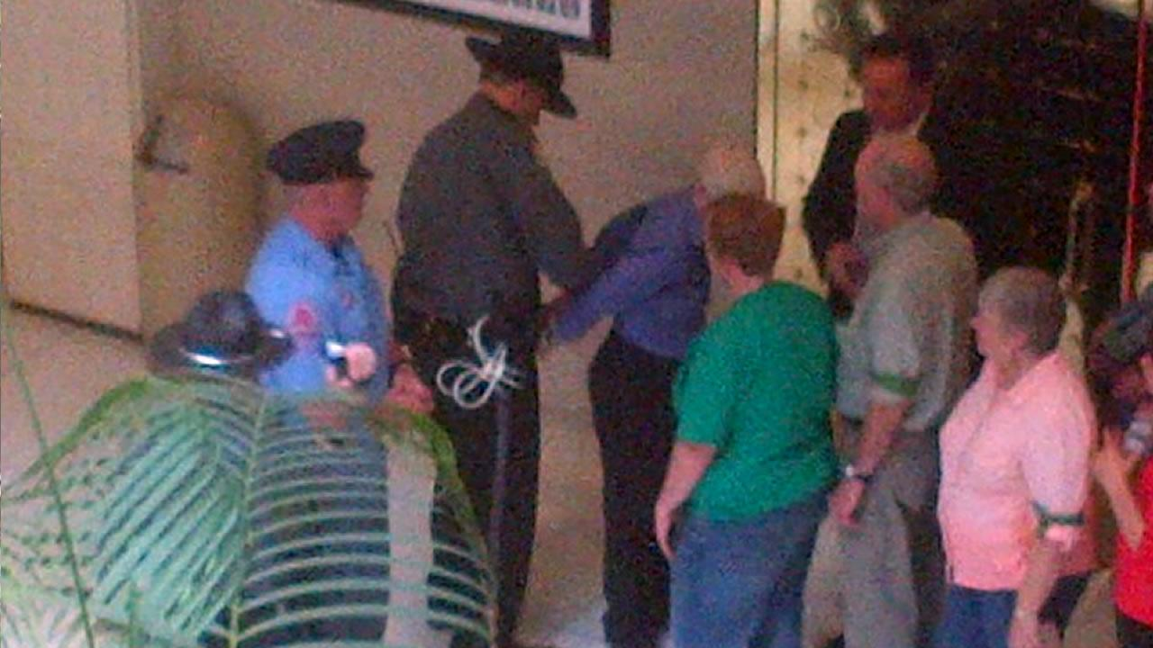 NAACP protest ends with 84 arrests