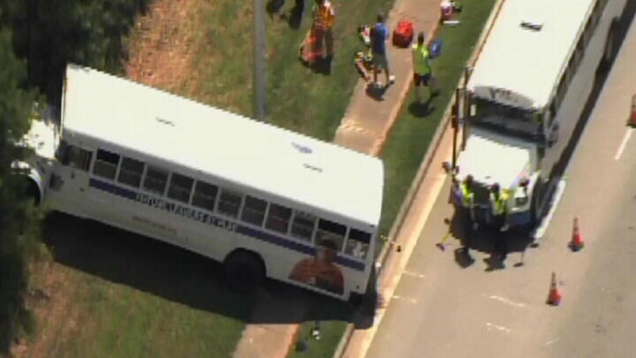 Cary YMCA bus involved in accident