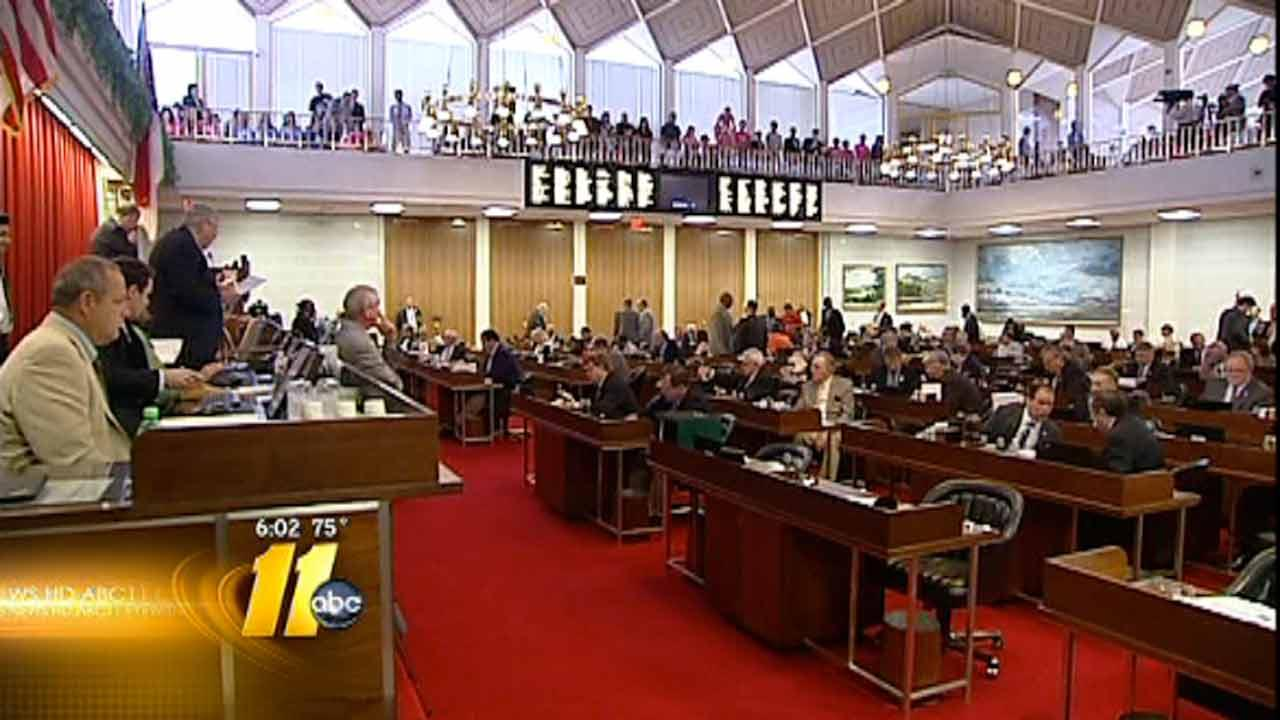 North Carolina House approves abortion legislation
