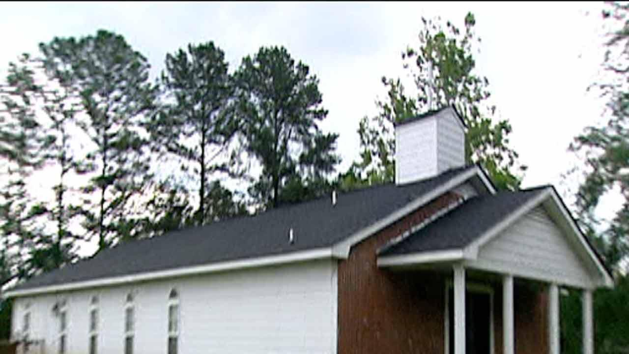 Construction leaves Fayetteville church isolated
