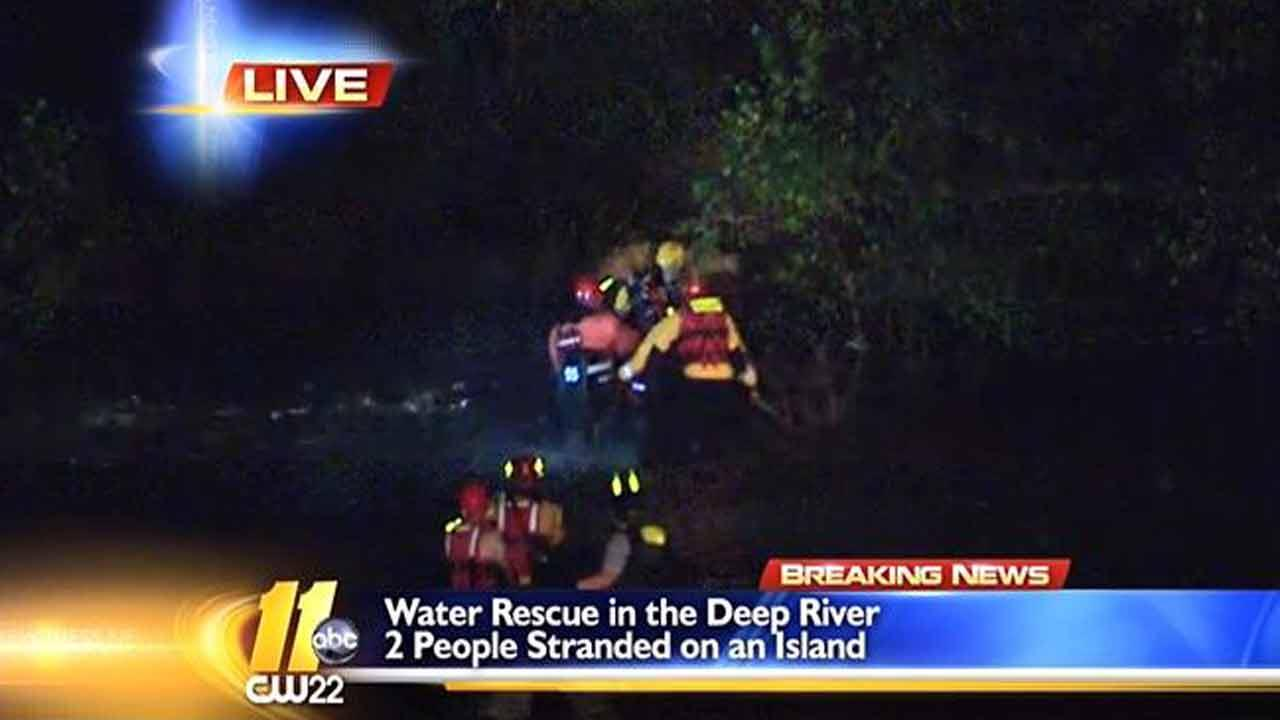 Deep River rescue