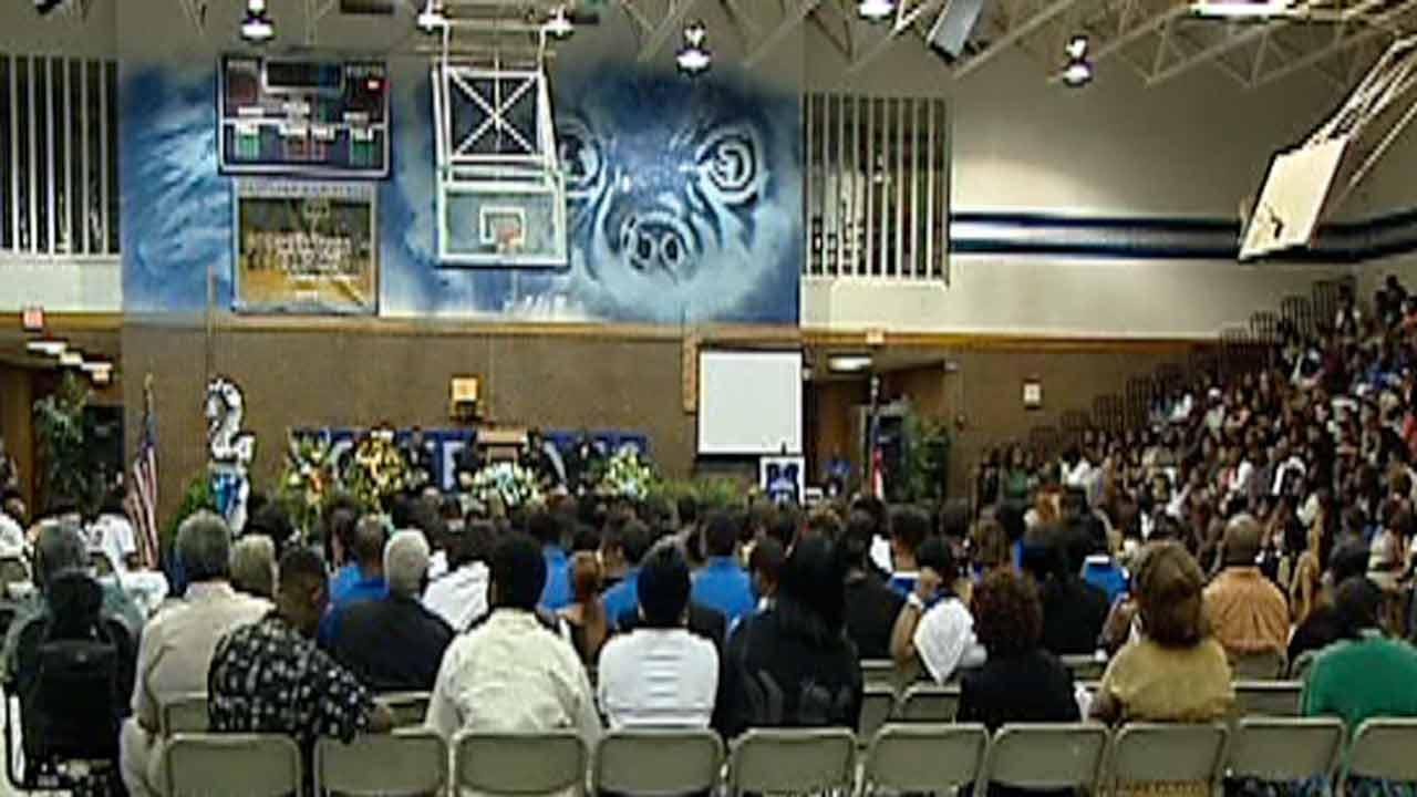 Family, friends remember slain Fayetteville teen