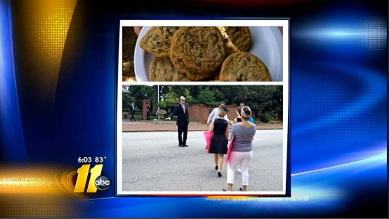 McCrory's cookie offer to abortion rights protesters crumbles