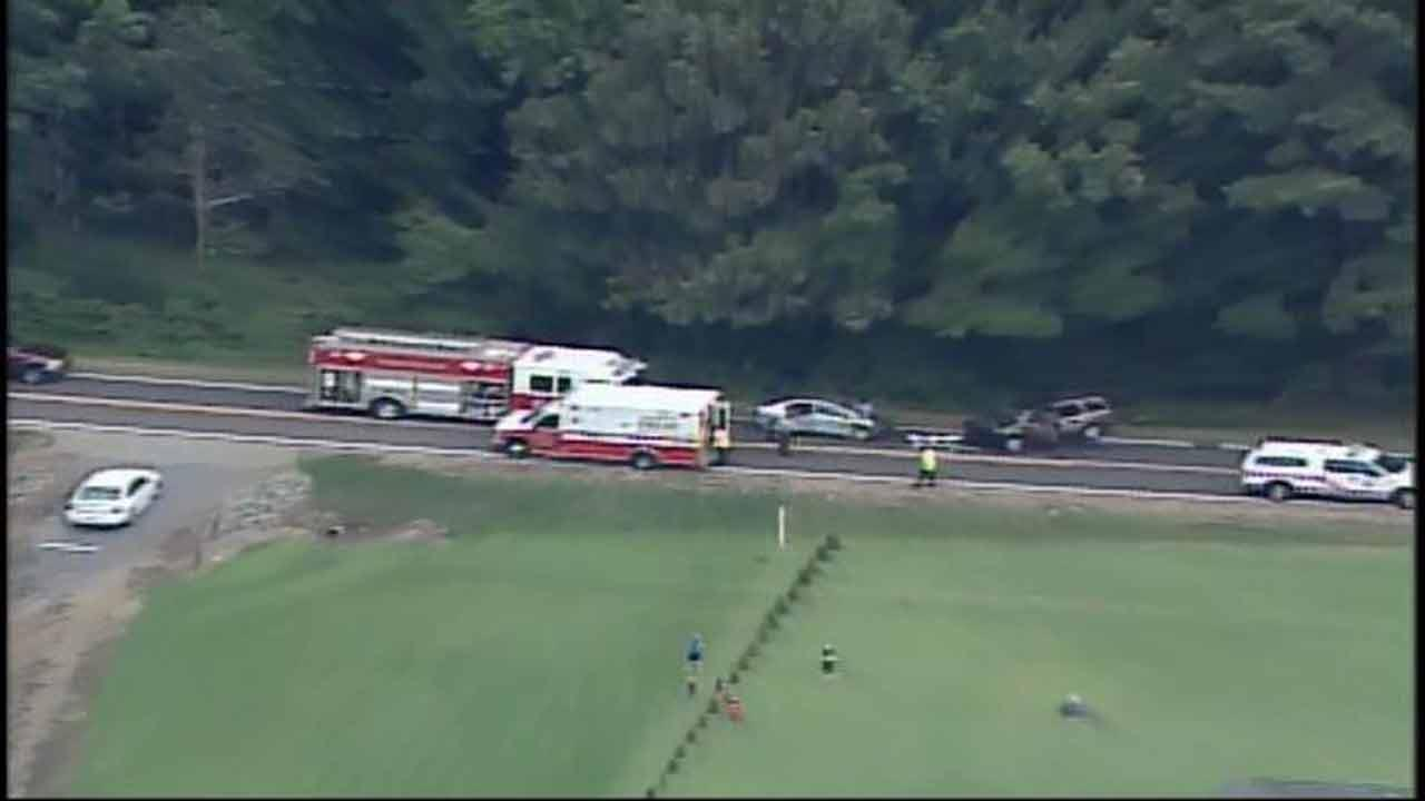 A woman was killed in a head-on collision in Chatham County Tuesday afternoon.