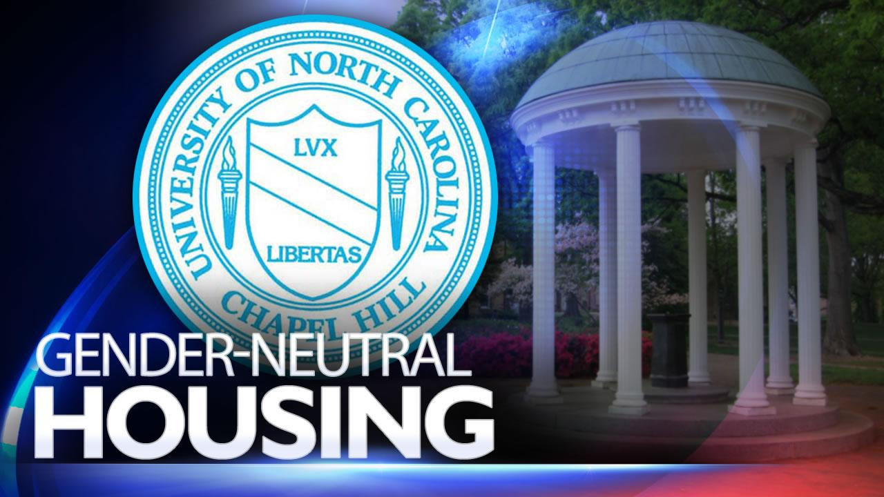 UNC Chapel Hill gender-neutral housing