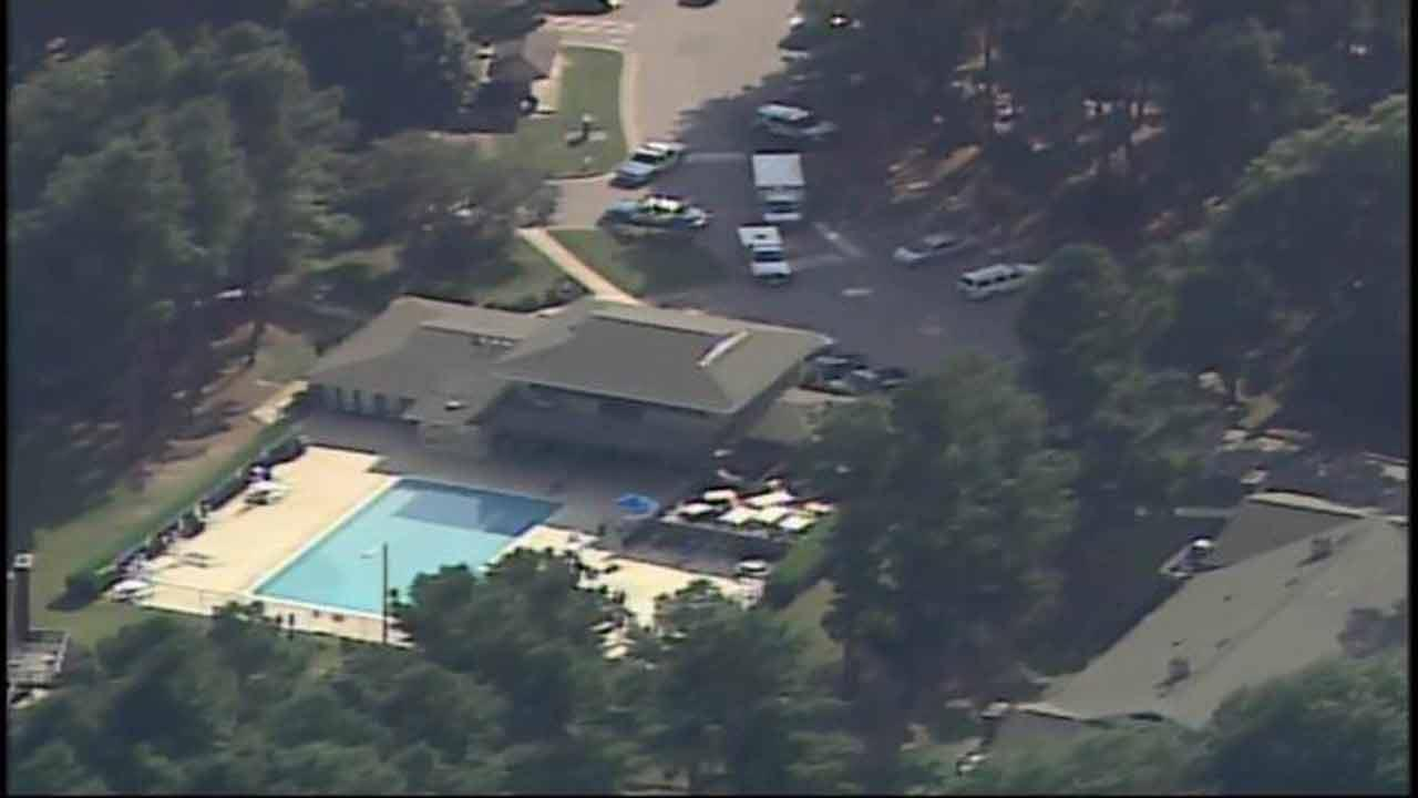 A possible drowing at the Spring Forest Apartment Homes in Raleigh.