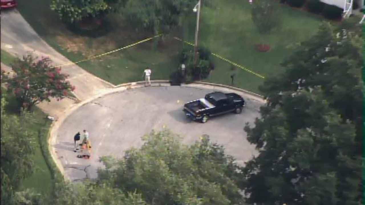 Wilson police-involved shooting scene.