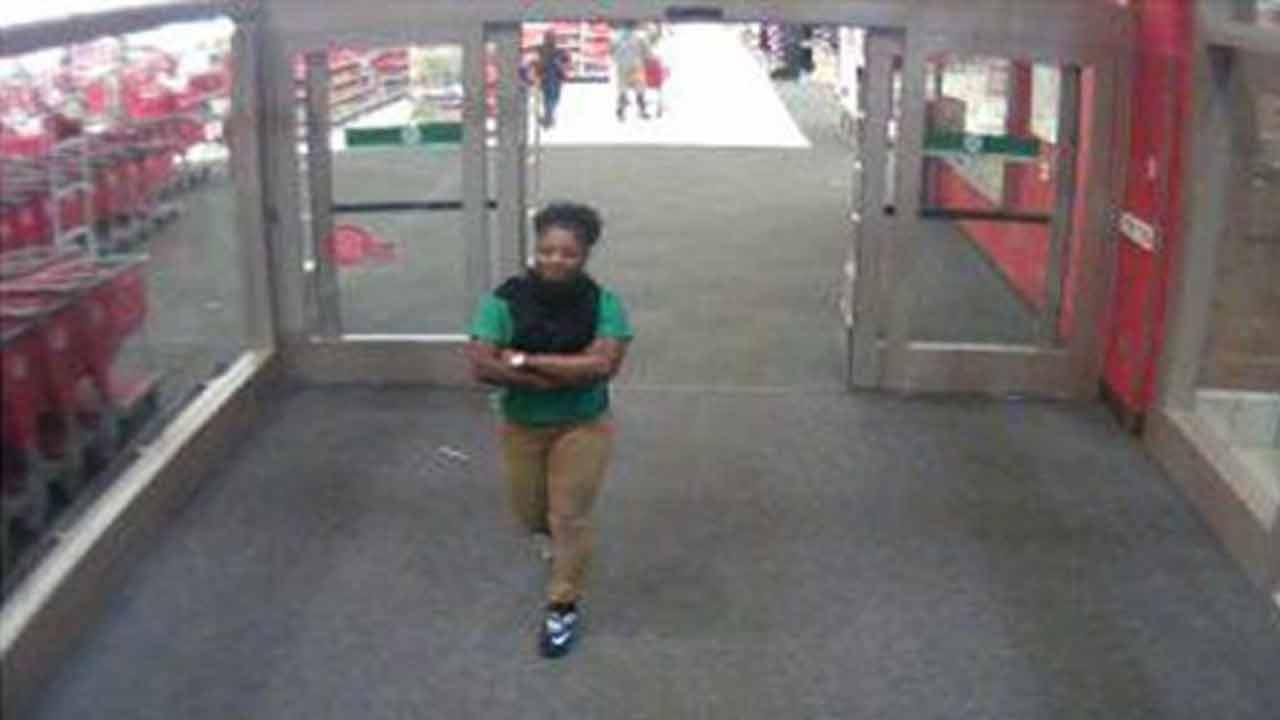 Morrisville armed robbery suspect caught on camera.