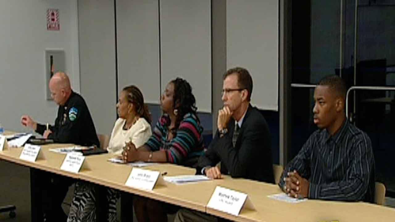 Chapel Hill meeting on Trayvon Martin incident.