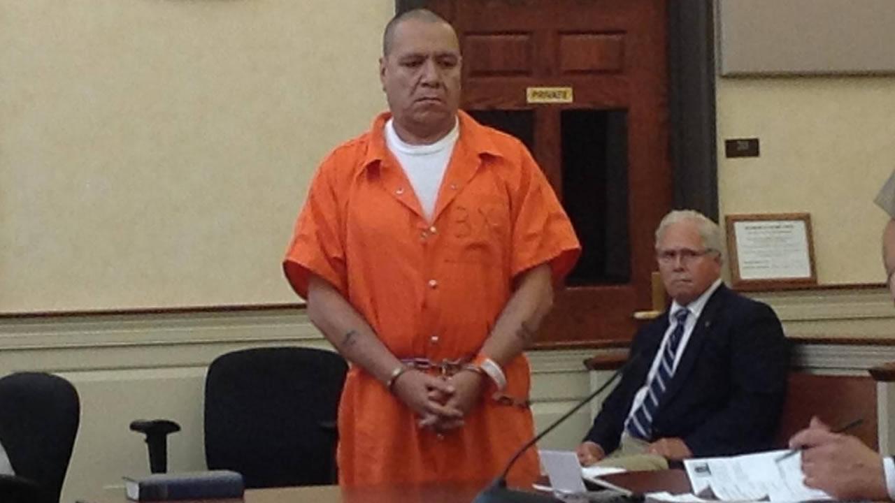 Rafael Sierra Gaono appears in court