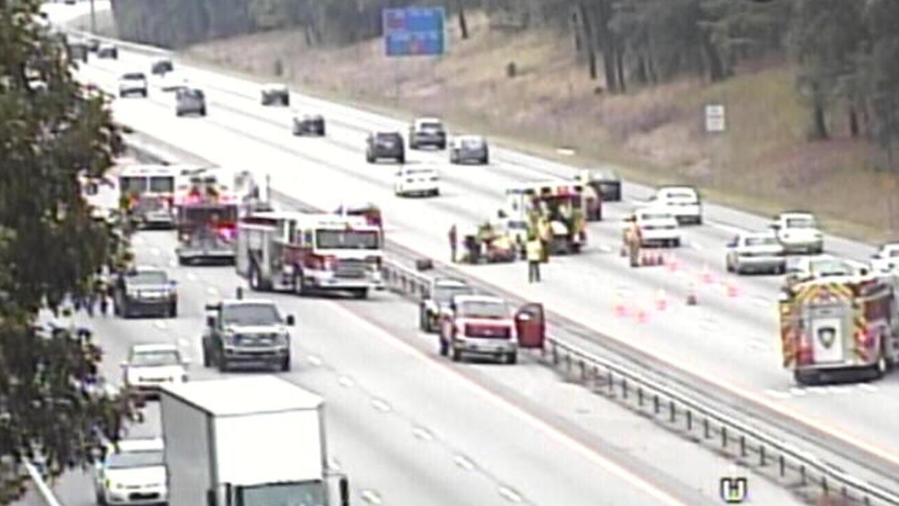 Man hit on Interstate 40 in Cary