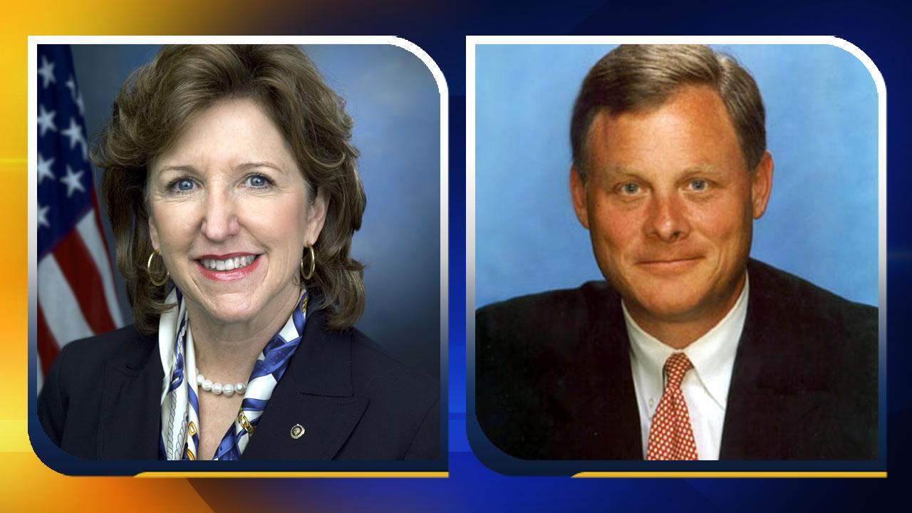 Senators Kay Hagan and Richard Burr