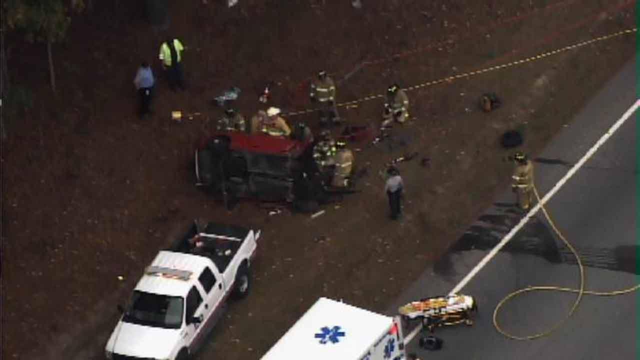 U.S. Highway 264 crash in Zebulon.