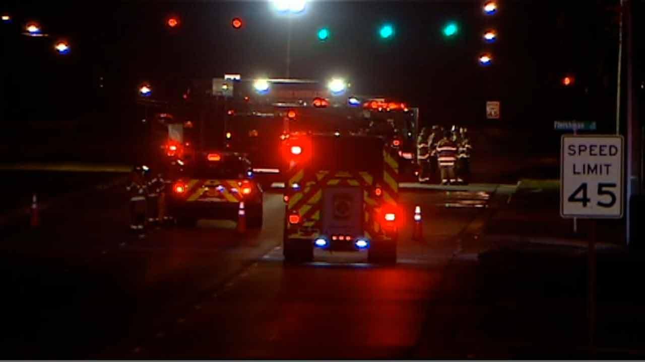 Gas leak on Bragg Boulevard