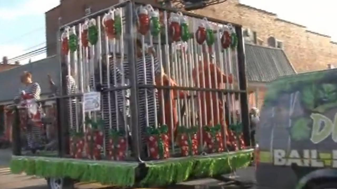 float banned from clayton christmas parade abc11com - Clayton Christmas Parade