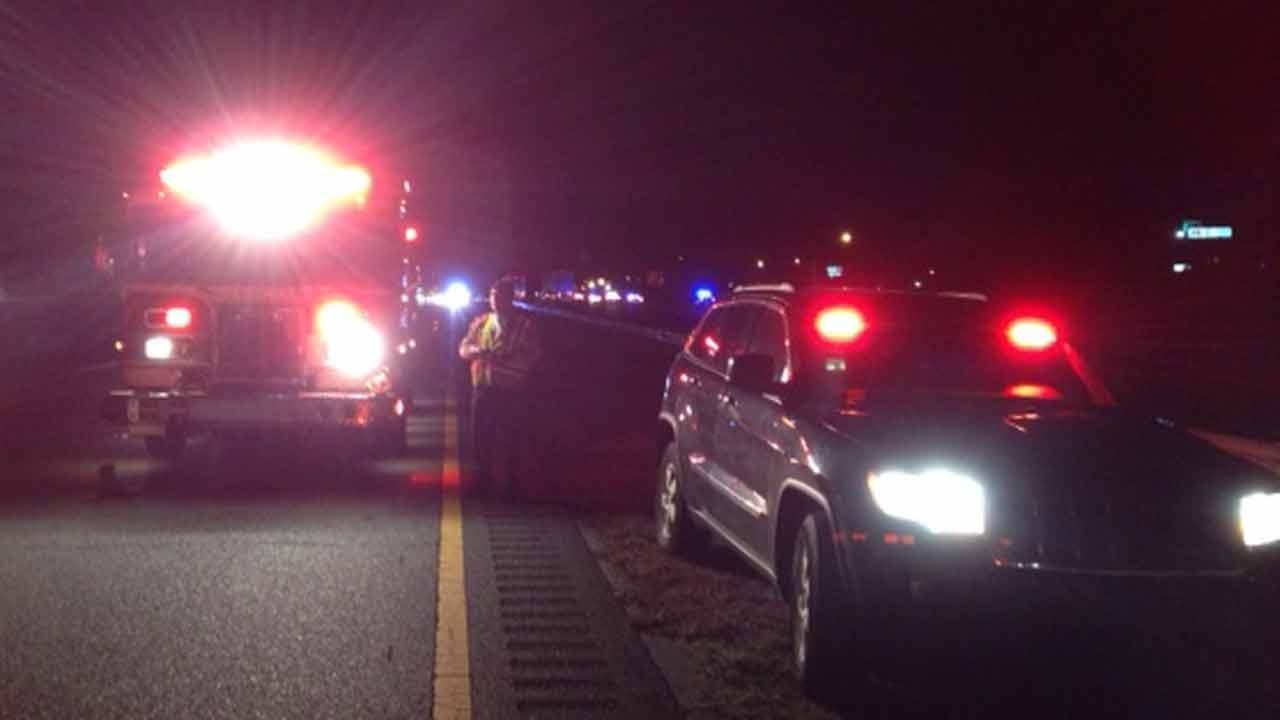 Fatal pedestrian accident on Interstate 95 in Selma.