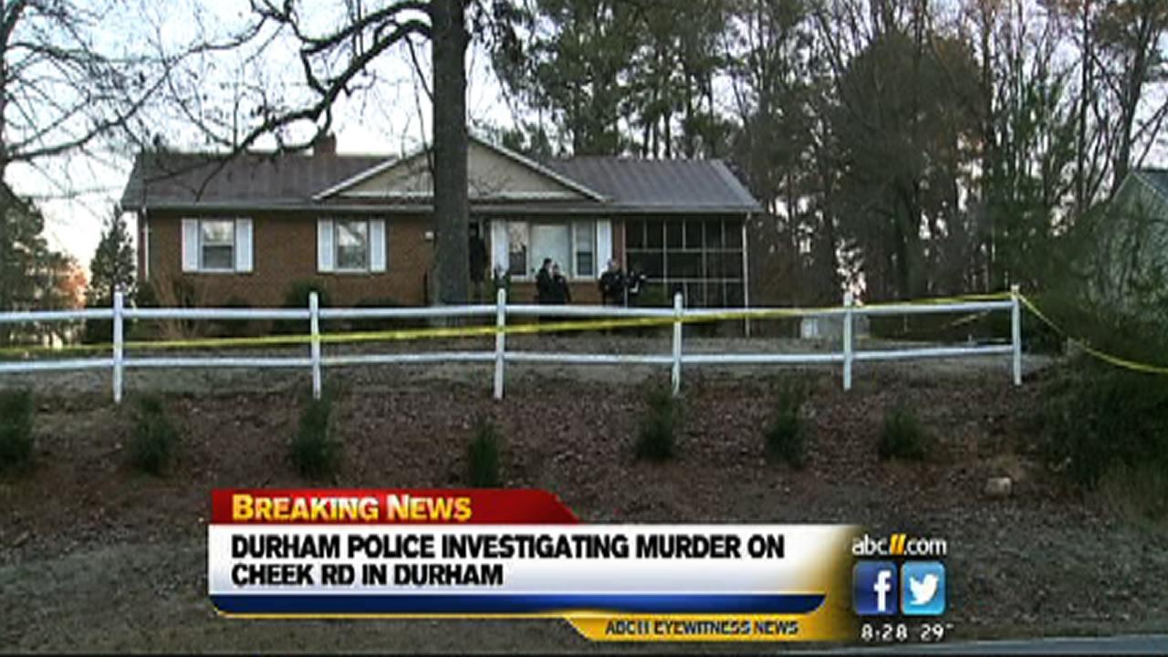 Shooting on Cheek Road in Durham