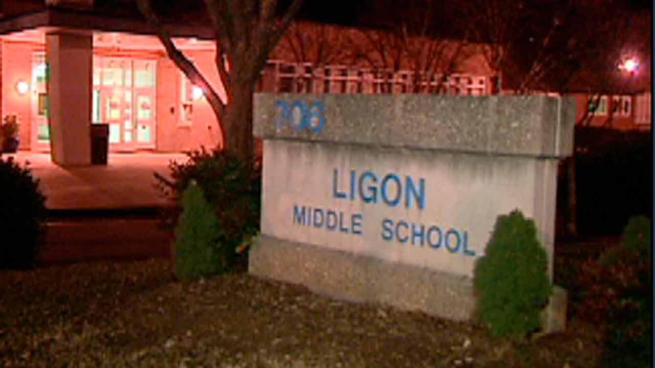 Ligon Middle School sign