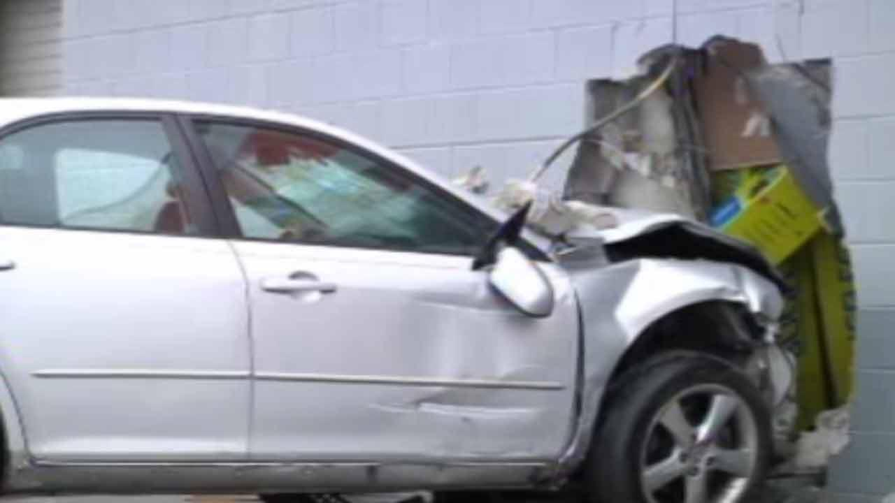 AutoZone crash in Fayetteville