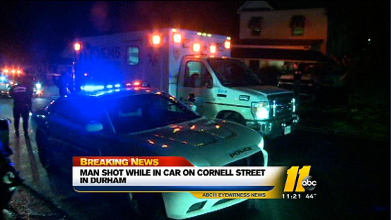 Durham shooting on Cornell Street