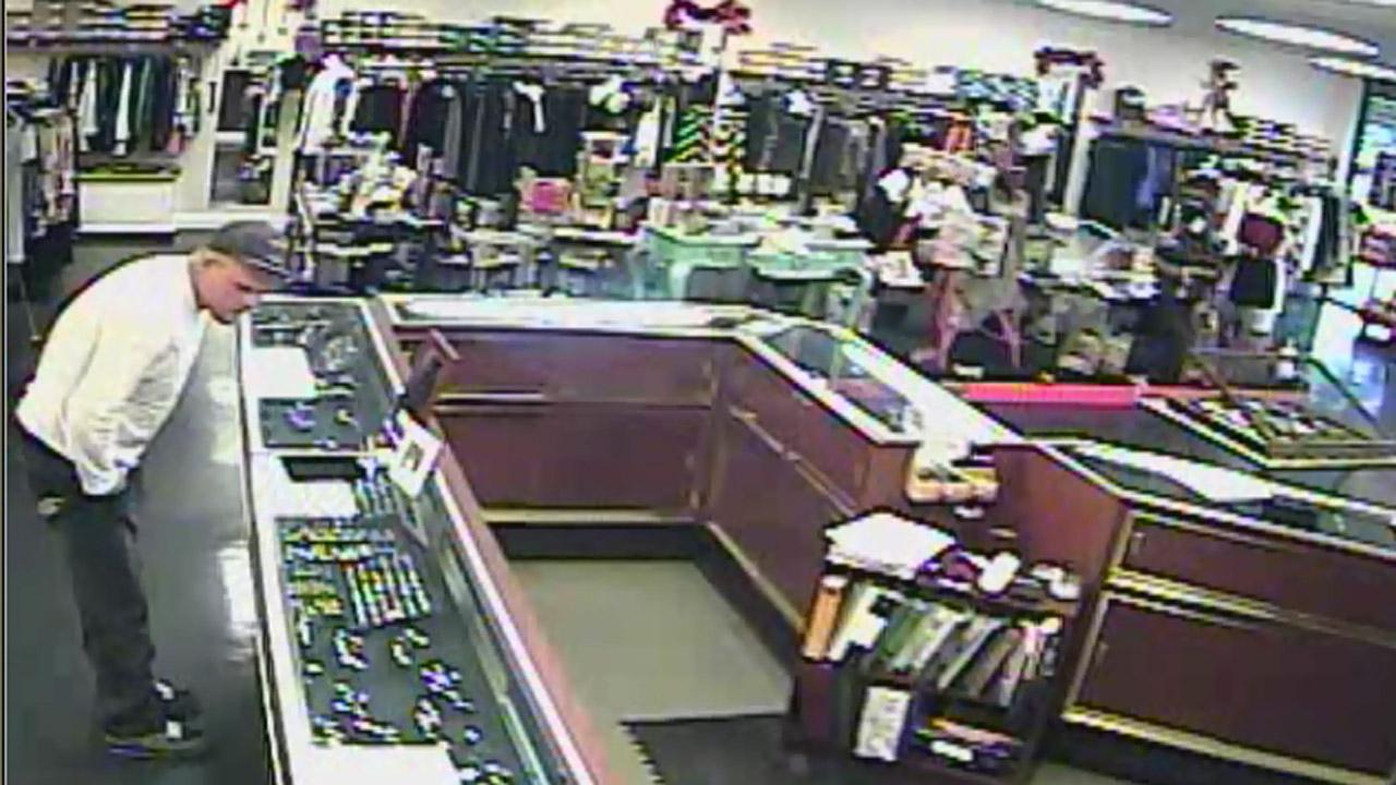 Cary ring theft suspect