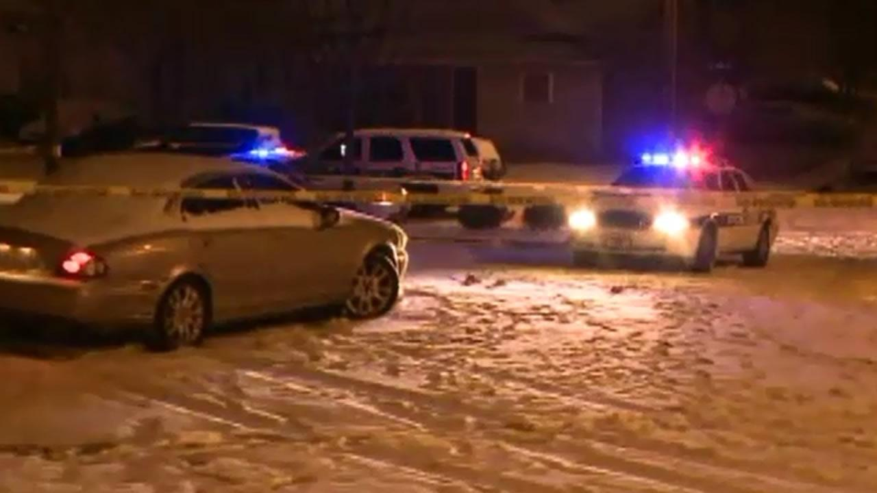 Durham police investigate a shooting.