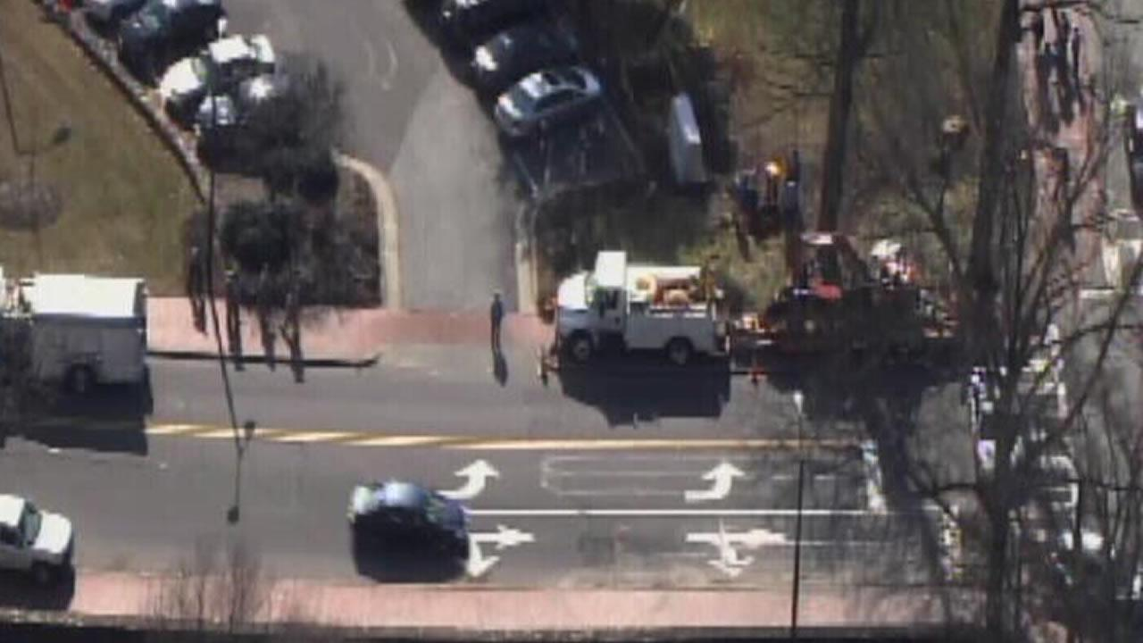A gas leak at UNC Thursday morning prompted the evacuation of a dorm.