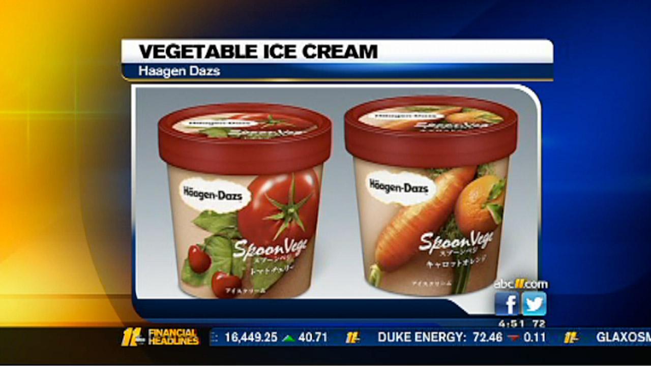 Haagen Dazs unveils vegetable ice cream
