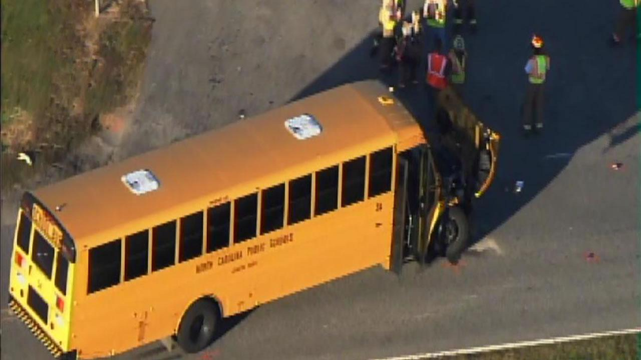 Motorcyclist dies after colliding with school bus