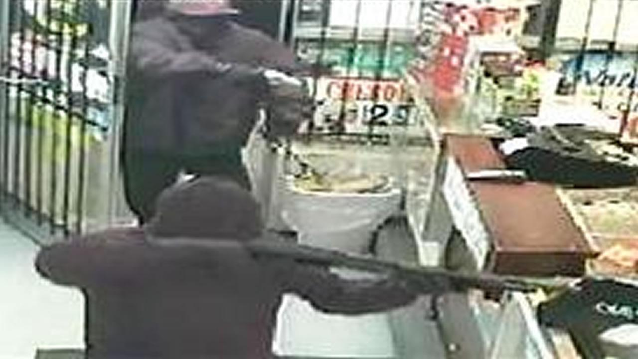 Two men robbed the Durham Mini Mart at 1933 Holloway Street on Dec. 5 at 11:47 p.m.