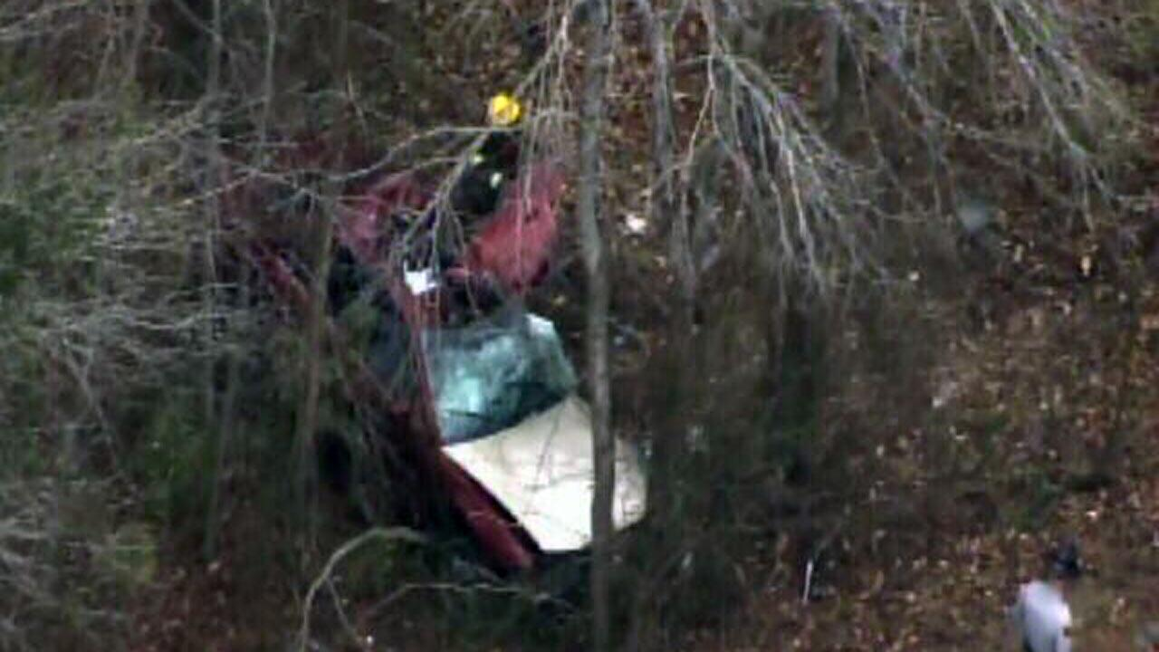 Authorities are investigating an accident that killed one person and injured another in Angier Wednesday.