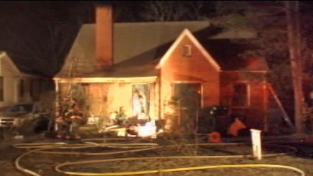 A fire broke out at the home on Davidson Avenue around 9:30 p.m. Saturday
