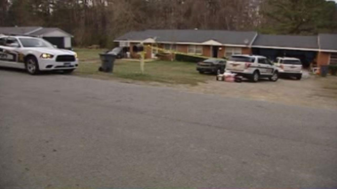 Two people were found dead inside this home on the 700-block of Colonial Drive, near Garner.