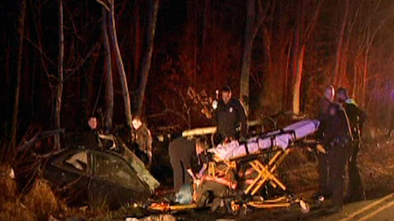 Three people are recovering after a bad accident on Junction and Ferrell roads in Durham.