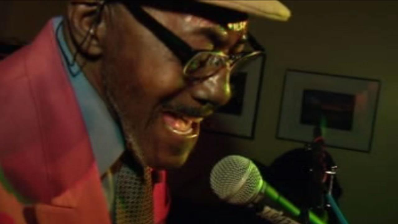 Blues legend Ironing Board Sam brings the house down on Friday nights in Hillsborough.
