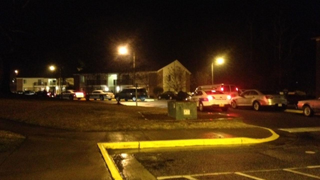 Authorities are investigating a shooting at the Bay Tree Apartments in Fuquay-Varina