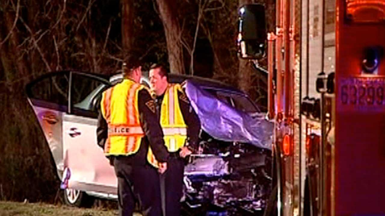 Two people were killed and two others were injured in a two-car crash Thursday evening in Fayetteville.