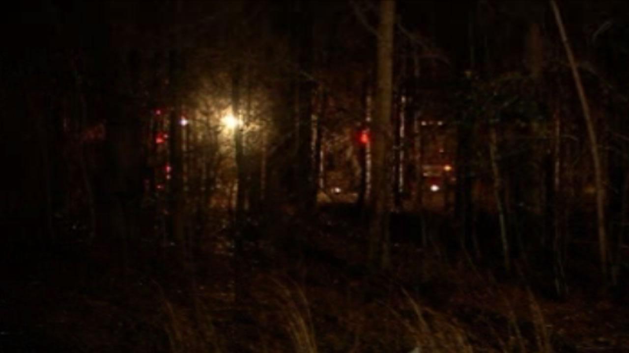 Fayetteville woods fire burns three buildings