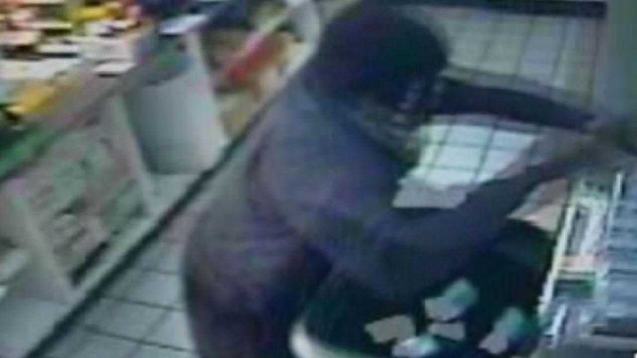 Police search for cigarette bandit