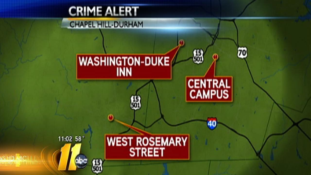 Duke, UNC campuses on alert