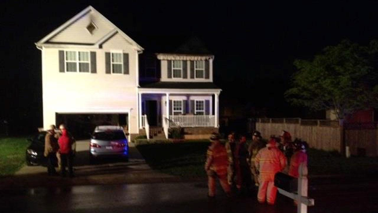 A Wake Forest family is staying with their neighbors after a fire broke out at their home in the 1200 block of Marbank Street Thursday night.