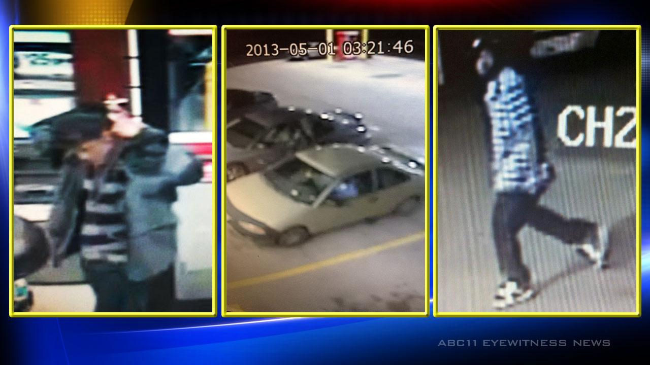 The Cumberland County Sheriffs Office is looking for two suspects after a long-distance truck driver was assaulted May 1, 2013.